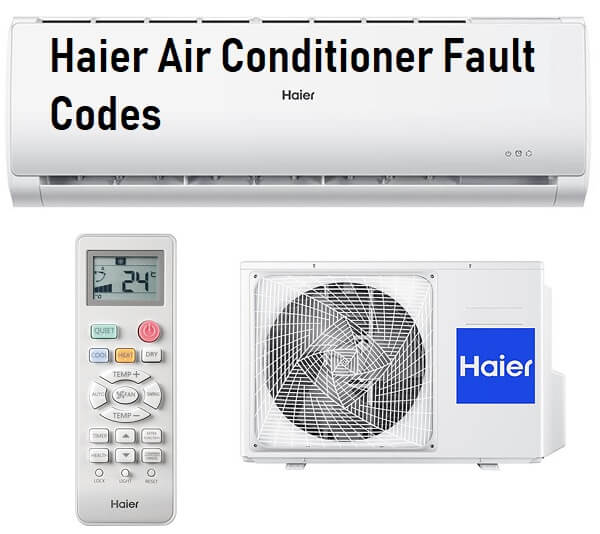 Haier Air Conditioner Fault Codes