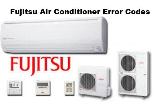 Fujitsu AC Error Codes and Troubleshooting | ACErrorCode com