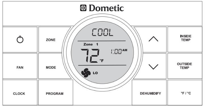 Dometic Thermostat Error Codes | ACErrorCode com