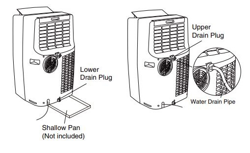 Window Air Conditioner Drain Pan