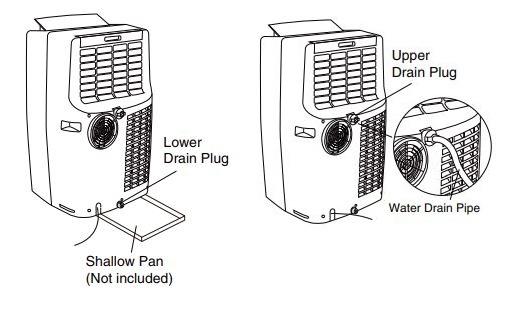 Honeywell Portable AC Water Condensation Drainage