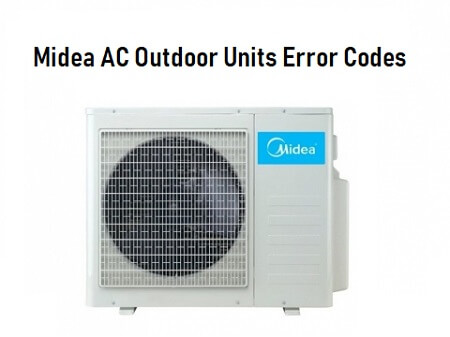Midea AC Error Codes and Troubleshooting | ACErrorCode com