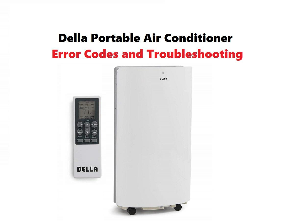 Della Portable Air Conditioner Error Codes