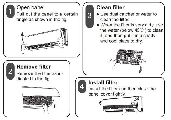 Godrej AC Clean Filter