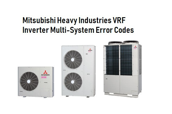 Mitsubishi Heavy Industries AC Error Codes | ACErrorCode com