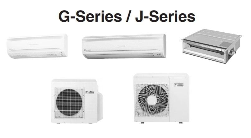 Daikin ACMXS-GJ Series Heat Pump Fault Codes Meaning
