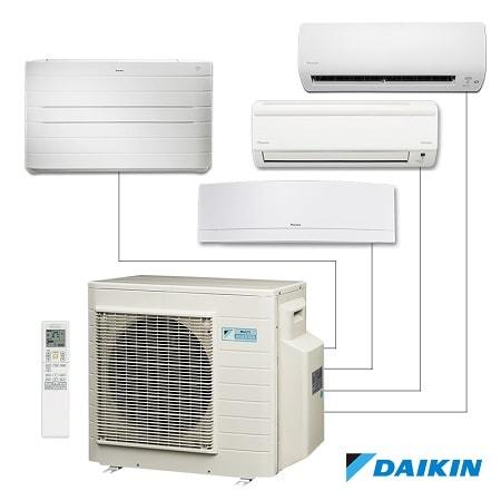 Daikin Multi-Split Type AC Error Codes